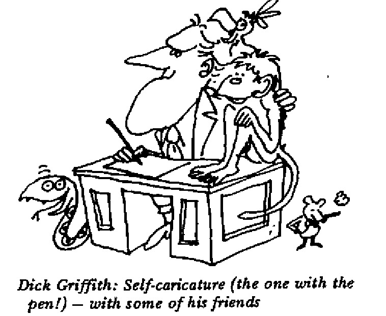 Dick Griffith - Self Caricature