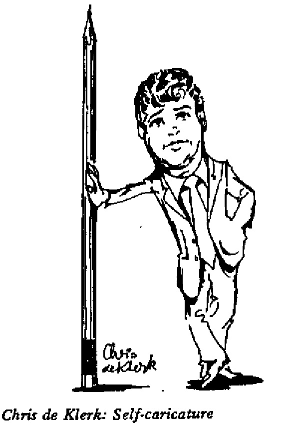 Chris de Klerk - Self Caricature