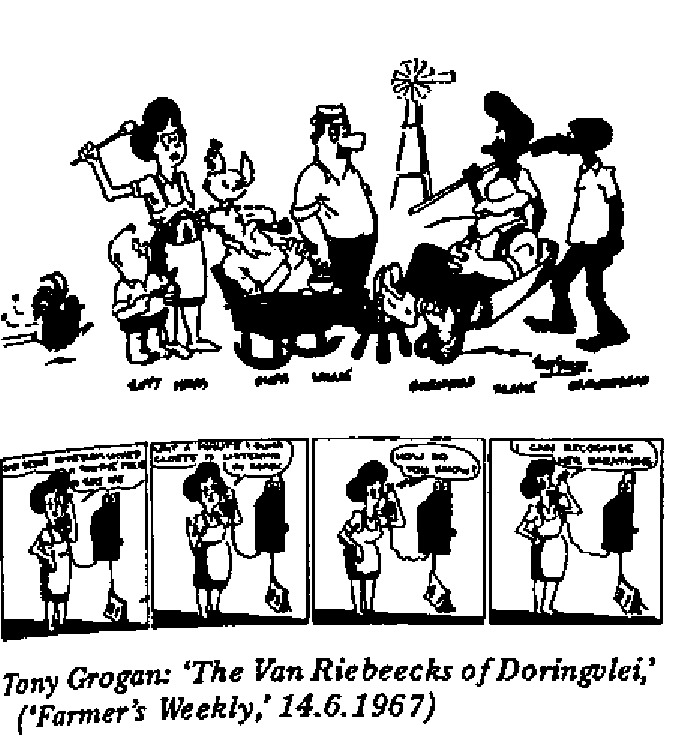 Tony Grogan - The Van Riebeecks