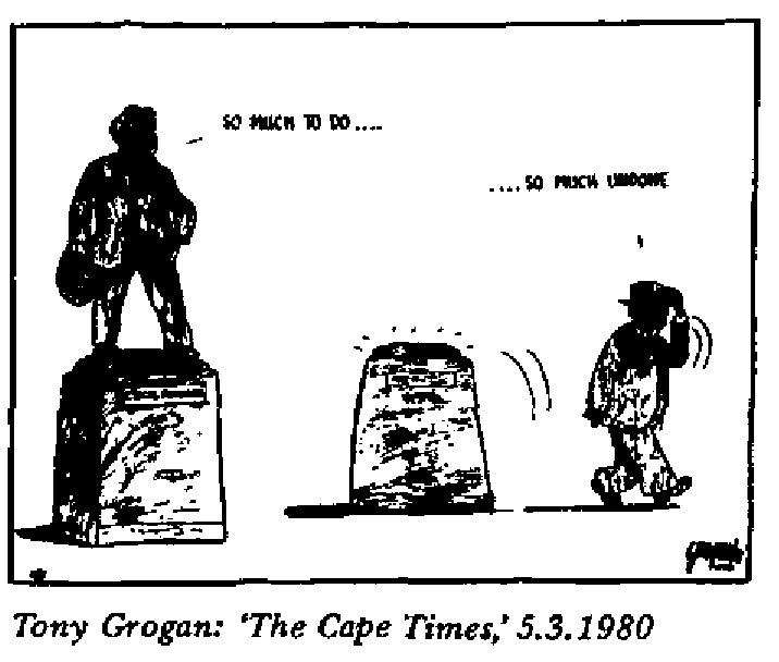 Tony Grogan- So Much to Do cartoon