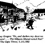 Tony Grogan- Darken My Door No More cartoon