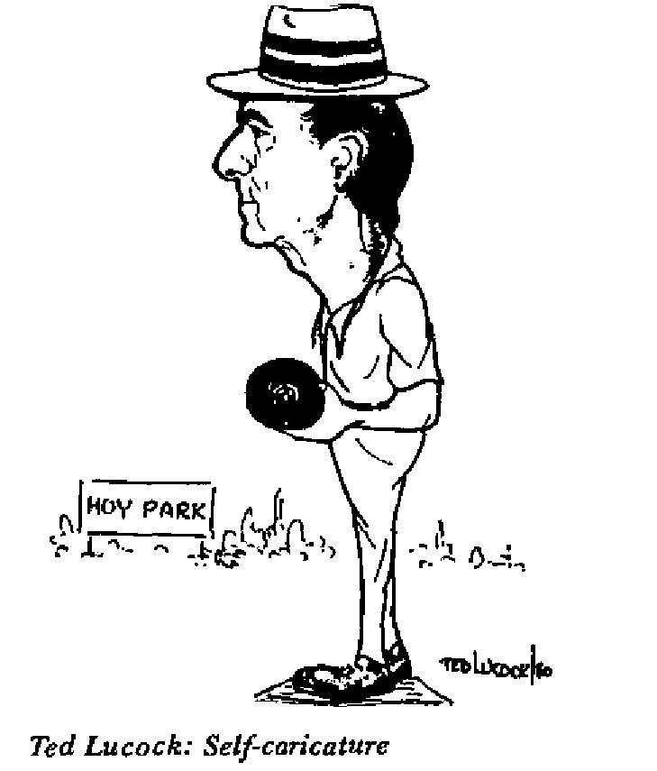 Lucock - Self-Caricature