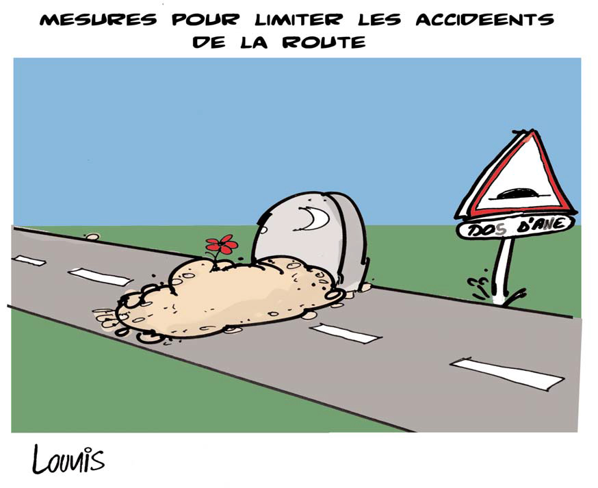 Djamel Lounis - Measures to Limit Road Accidents