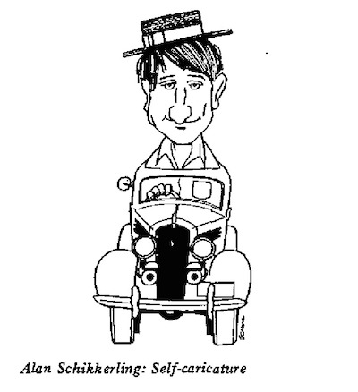 Alan Schikkerling- Self caricature
