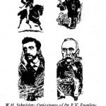 W. H. Schroeder- caricatures