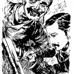 W.H. Schroeder- Self Caricature