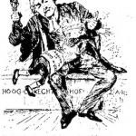 W.H. Schroeder- Well-Deserved Punishment cartoon