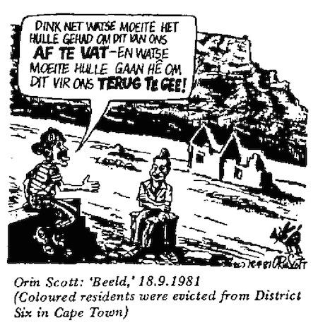 Orin Scott- Eviction cartoon