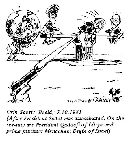 Orin Scott- See Saw cartoon