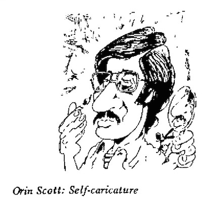Orin Scott- Self caricature