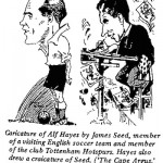 James Seed- Caricature of Alf Hayes