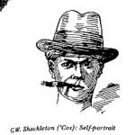 C.W. Shackleton- Self Portrait