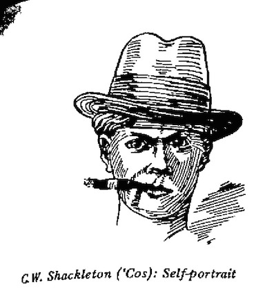 C.W. Shackleton- Self Portrait