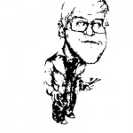 David Shapiro - David Hockney cartoon