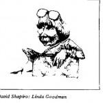 David Shapiro - Linda Goodman cartoon