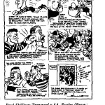 Fred Shilling - Travaal vs SA Rugby cartoon