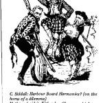 C. Siddall - Harbour Board Harmonies cartoon