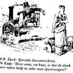 W.R. Slack - Speciale Invoerrechten cartoon