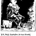 WR Slack- Zeepbellen de Heer cartoon