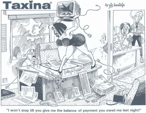 Vic Kasinja - Taxina Won't Stop Until She's Paid