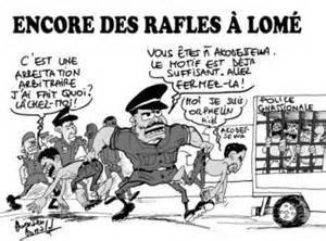 Encore de rafles a Lome
