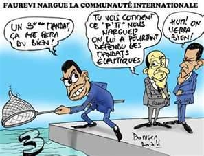 Faure Nargue la Communaute Internationale