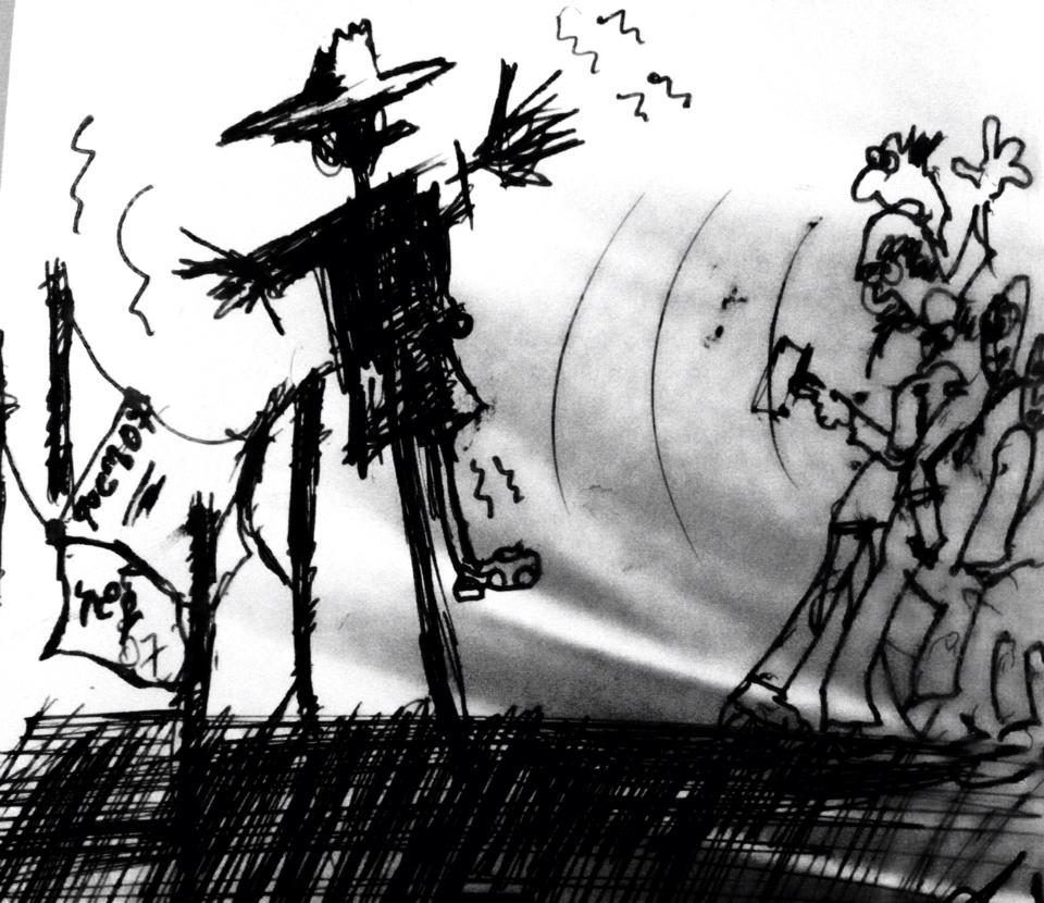 Wondwosan Azage - Scarecrow Politics