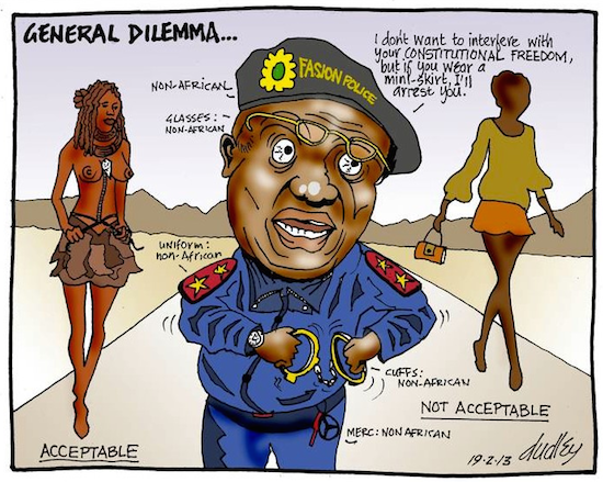 Dudley Viall- General Dilemma cartoon