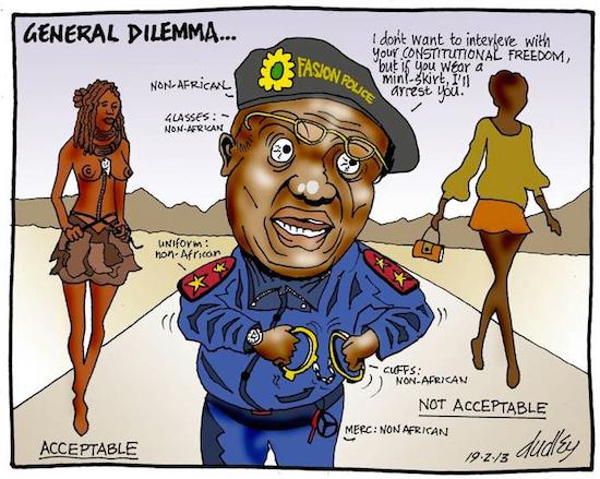 Dudley Viall- General Dilemma cartoon