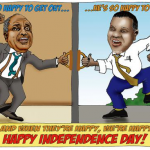 Dudley Viall- Independence Day cartoon