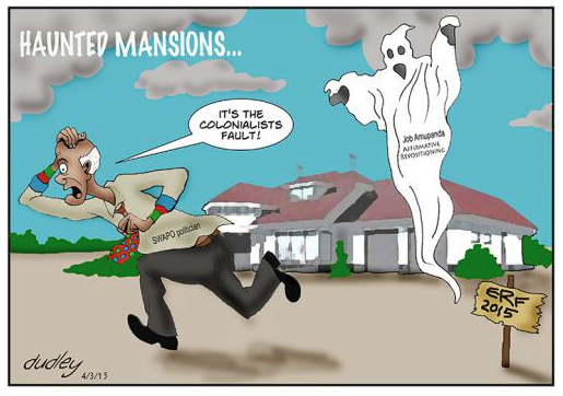 Dudley Viall- Haunted Mansion cartoon