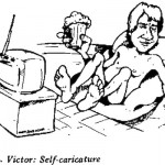 PL Victor- Self Caricature