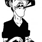 Pieter Voges- Caricature of Tobie Cronje