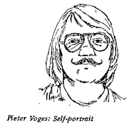 Pieter Voges- Self Portrait