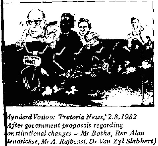 Mynderd Vosloo- Constitutional Changes cartoon