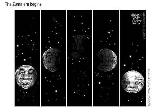 Mynderd Vosloo- Zuma Era Begins cartoon