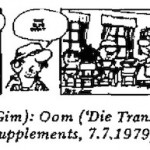 Gim Watson- Oom cartoon