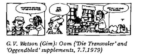 GV Watson- Oom cartoon