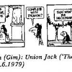 Gim Watson- Saint George cartoon