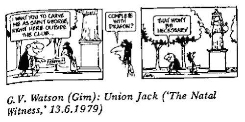 GV Watson- Saint George cartoon