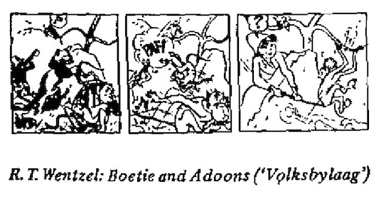 R.T. Wentzel- Boetie and Adoons cartoon