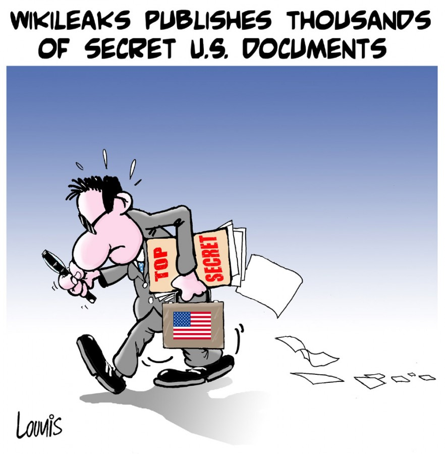 Djamel Lounis - Wikileaks Publishes Secret U.S. Documents