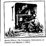 Monty Wilson- The Toestrack cartoon