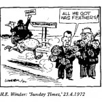 H.E. Winder- All We Got Was Feathers cartoon