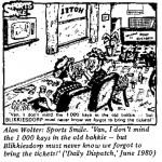 Alan Wolter- Sports Smile cartoon